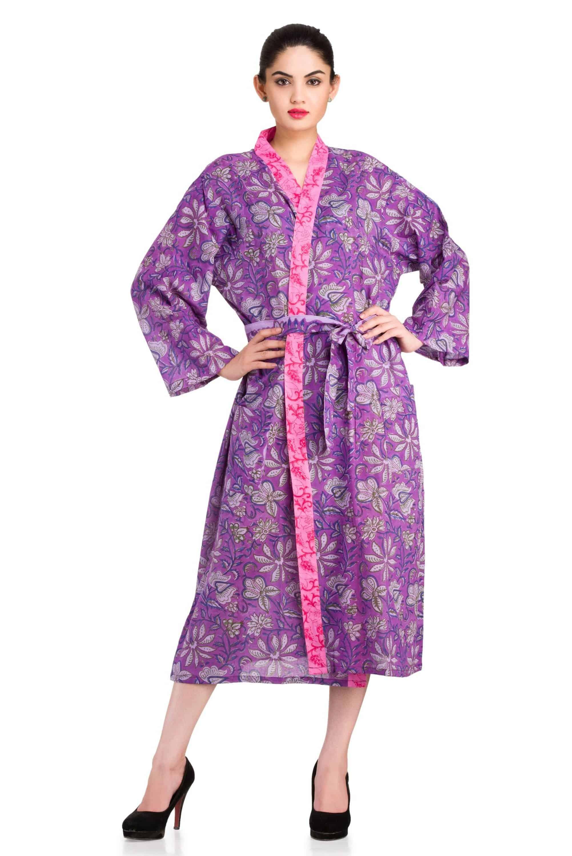 Pihu Bath Robe Gown Dressing Handicraft Palace