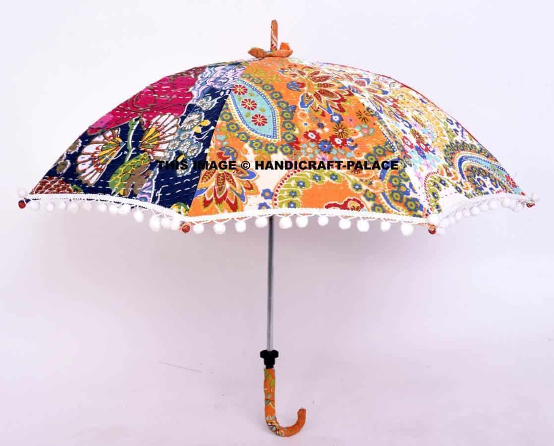 Wholesale Lot Of 10 Pc Traditional Indian Parasol Umbrella