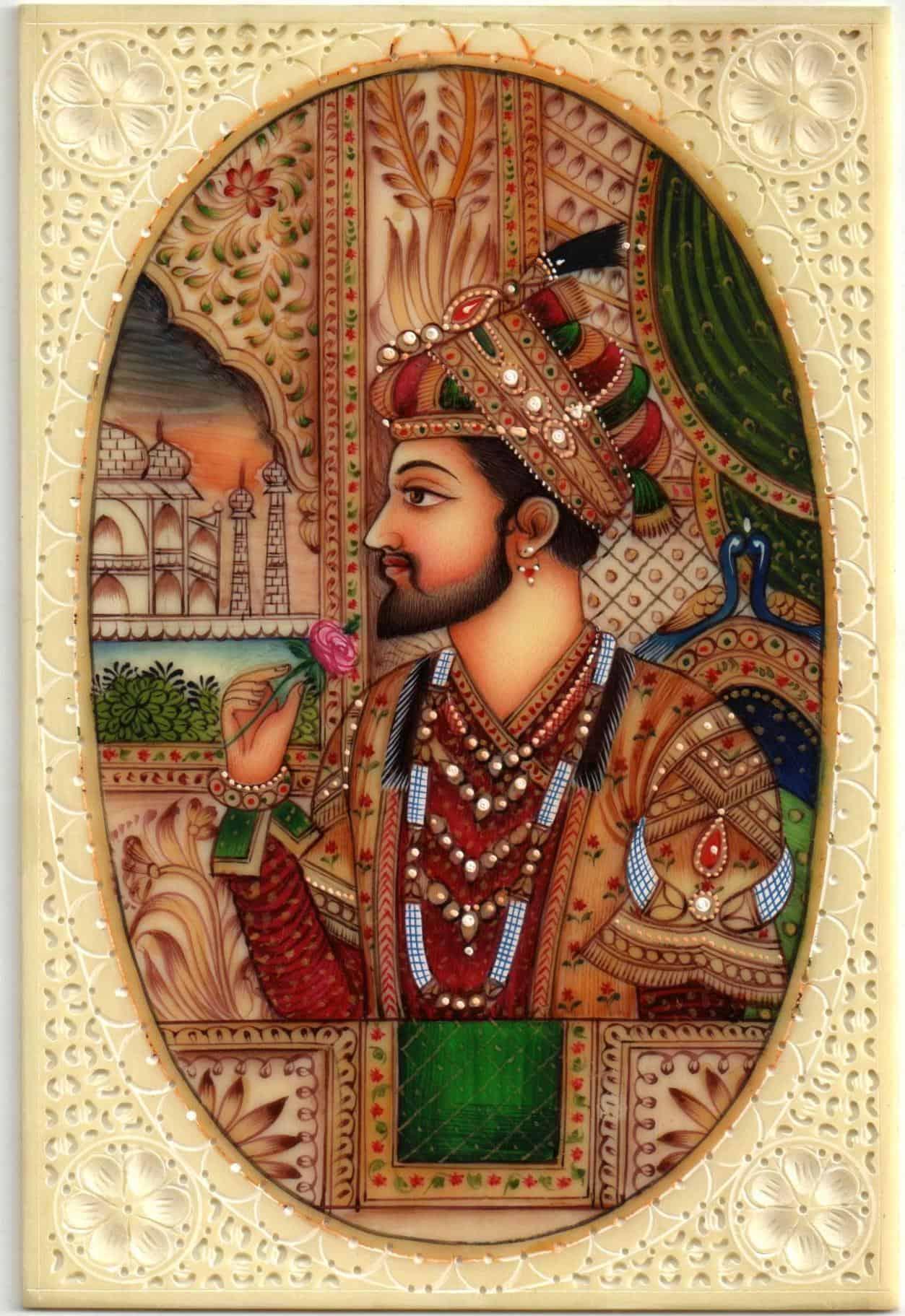 Mughal Emperor Shahjahan Amp Wife Mumtaz Mahal Handicraft
