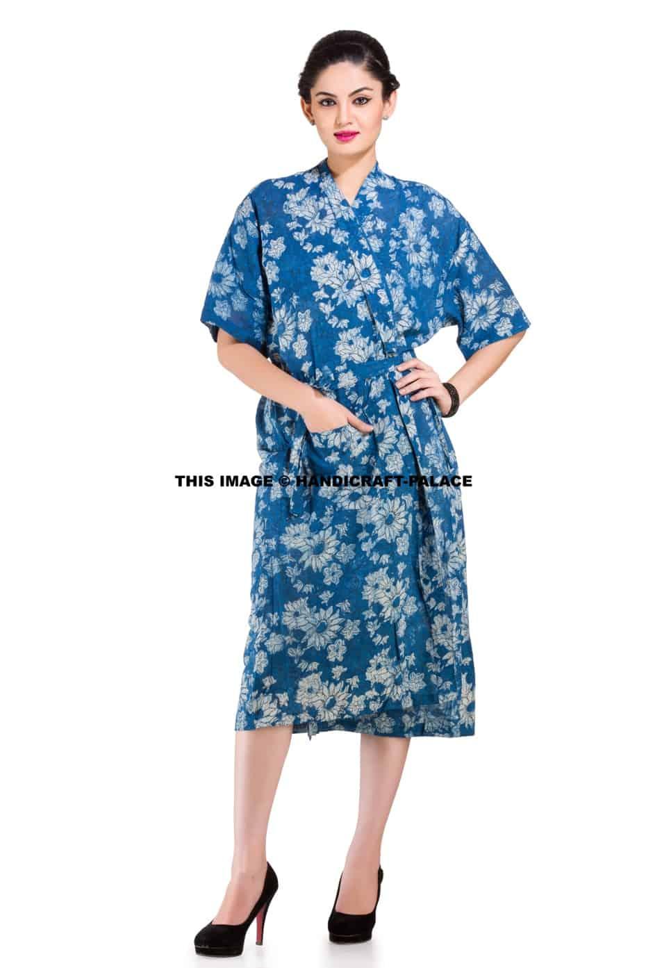 Floral Women s Bath Robe - Handicraft Palace 4367e4db5