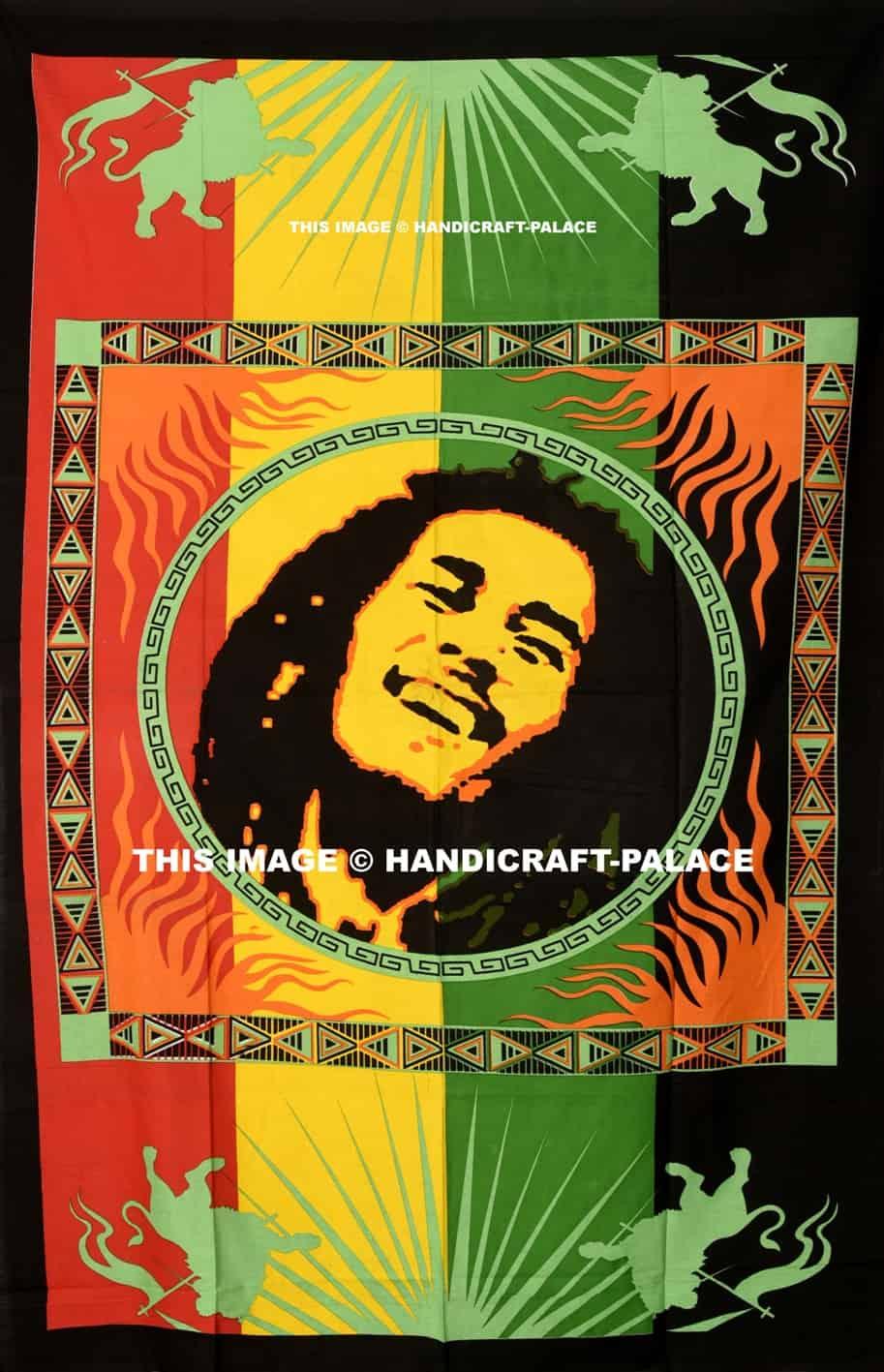 Bob Marley Doona Cover Set Handicraft Palace