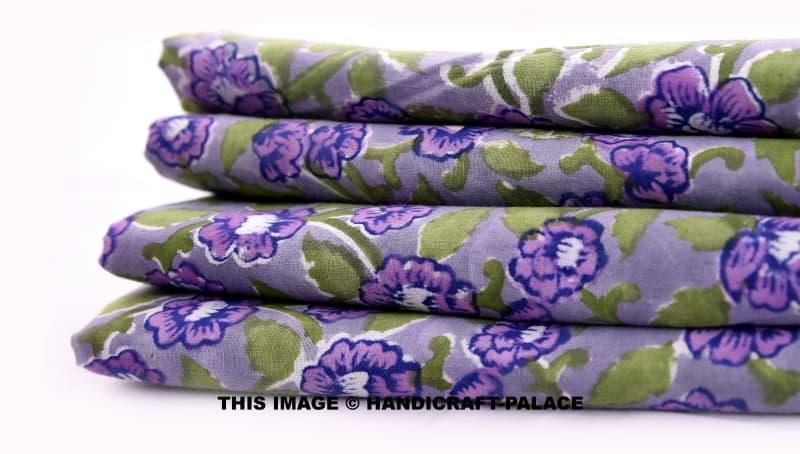 Daffodil Purple Blue Fabric Handicraft Palace